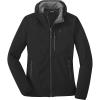 Outdoor Research Women's Ferrosi Grid Hooded Jacket - XL - Black