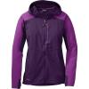 Outdoor Research Women's Ferrosi Hooded Jacket - Medium - Elderberry / Wisteria