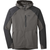 Outdoor Research Men's Ferrosi Hooded Jacket - Small - Pewter / Storm