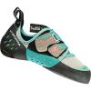 La Sportiva Women's Oxygym Climbing Shoe - 37.5 - Mint / Coral