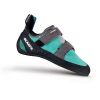Scarpa Women's Origin Climbing Shoe - 37.5 - Green Blue/Smoke