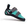 Scarpa Women's Origin Climbing Shoe - 38.5 - Green Blue/Smoke