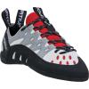 La Sportiva Women's Tarantulace Climbing Shoe - 38 - Grey / Hibiscus