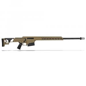 "Barrett MRAD .338 Lapua Mag Bolt Action Fixed FDE 26"" Fluted Bbl 1:9.4"" 10rd Rifle 18503 thumbnail"