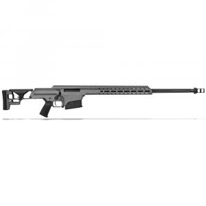 "Barrett MRAD .300 Norma Mag Bolt Action Fixed Tungsten Grey Cerakote 26"" Fluted Bbl 1:10"" 10rd Rifle 18510 thumbnail"