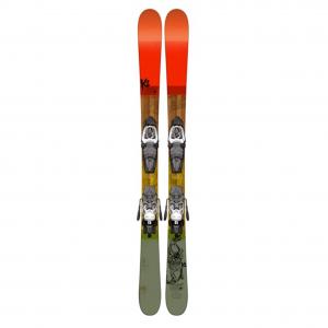 K2 Poacher Jr. Skis with Fasttrak2 4.5 Bindings - Youth