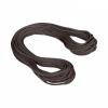 MAMMUT - 9.8 CRAG CLASSIC ROPE - 60m - Standard, Black-Whit