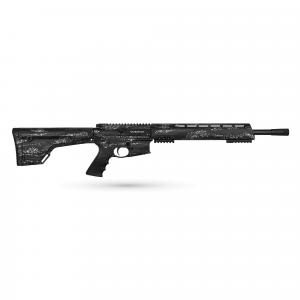 "Brenton Usa Ranger Carbon Hunter 18"" 6.5mm Grendel Semi-Automatic AR-15 Rifle, MarbleKote Midnight Camo - RR18MM6.5 thumbnail"