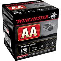 "Winchester AA 2.75"" 28 Gauge Ammo #9 Shot, 25 rds/box - AA289 title="