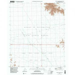 North Of Isla Pinta, AZ - 7.5' Topo 1996