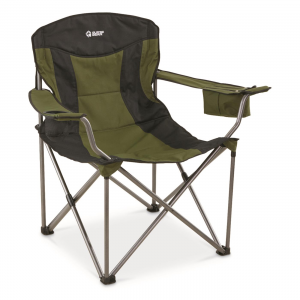 Guide Gear Oversized XXL Camp Chair 600-lb. Capacity Green/Black