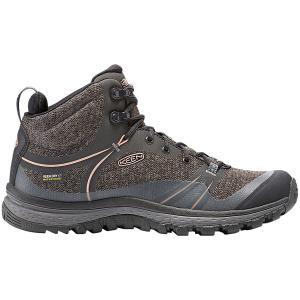 Keen Women's Terradora Mid Waterproof Hiking Boots, Raven - Size 6