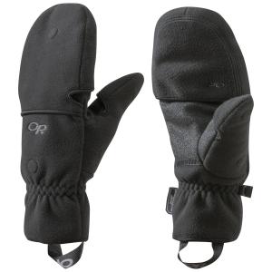 Outdoor Research Gripper Convertible Gloves, Black