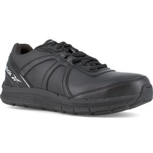 Reebok Work Women's Guide Work Steel Toe Work Shoes, Black, Wide