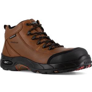 Reebok Work Women's Tiahawk Composite Toe Waterproof Sport Hiker, Brown