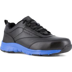 Reebok Work Men's Ateron Steel Toe Performance Cross Trainer Sneaker, Black/blue