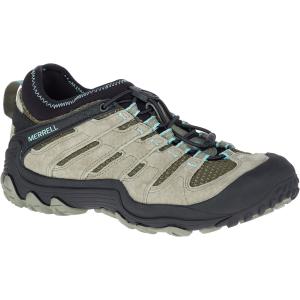 Merrell Women's Chameleon 7 Limit Stretch Low Hiking Shoes, Dusty Olive - Size 6