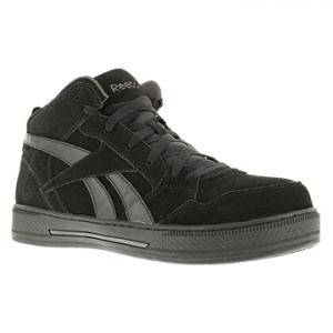 Reebok Work Men's Dayod Composite Toe Lightweight Hi Top Skateboard Sneaker, Black