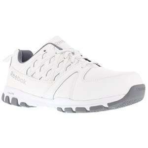 Reebok Work Men's Sublite Work Steel Toe Athletic Oxford Sneaker, White