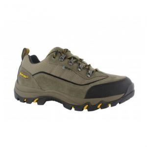 Hi-Tec Men's Skamania Low Wp Hiking Shoes, Smokey Brown/taupe/gold - Size 8