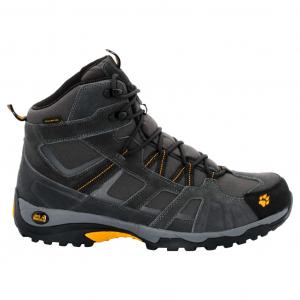 Jack Wolfskin Men's Vojo Mid Texapore Waterproof Hiking Boots, Burly Yellow - Size 14.5