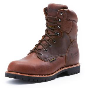 Chippewa Men's 8 Inch 75312W Waterproof 400 Grm Boots, Wide