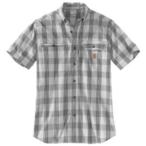 Carhartt Men's Force Ridgefield Plaid Short-Sleeve Shirt