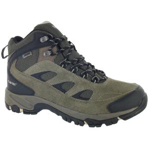 Hi-Tec Men's Logan Wp Hiking Boots, Smokey Brown/olive/snow,wide - Size 9