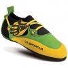 La Sportiva Kids' Stickit Climbing Shoes, Green/yellow - Size 26