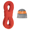 Sterling Rope Co. Fusion Ion R Dry Xp Climbing Rope With Beanie
